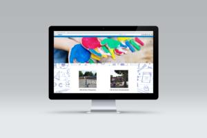 Design en onderhoud van de website voor CBS de Bron.