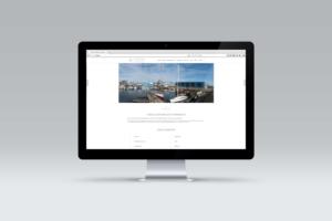 Design en onderhoud van de website voor Yagra Jachtservice.