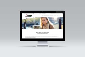 Tekst, beeld, design en onderhoud van de website voor Maatwerk en Mediation.